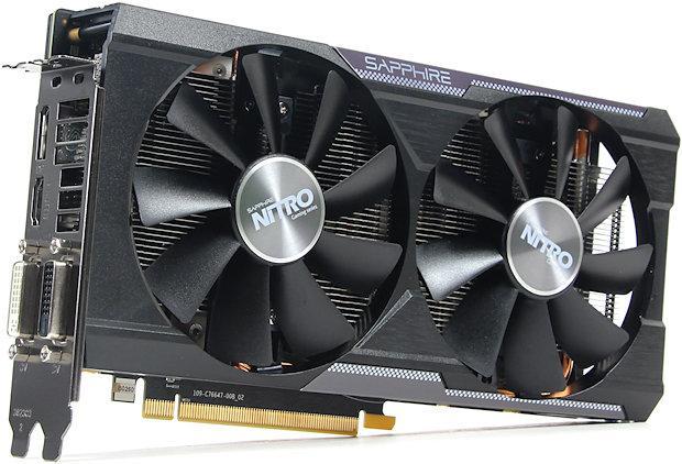 """Видеокарта Sapphire Radeon R9 380X (11250-01) GDDR5  """"Over-Stock"""" Б/У"""