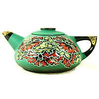 Чайник заварочный керамический большой ручная роспись Маки 9365