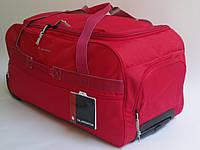 Дорожная - спортивная сумка на колесах: средняя - Gladiator Expedition M-0668, красная