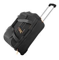 Дорожная - спортивная сумка на колесах: средняя - Gladiator Expedition M-0668, черная