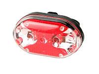 Велофара задняя Габарит маячок 9 LED диодов 7 режимов HY-208, фото 1