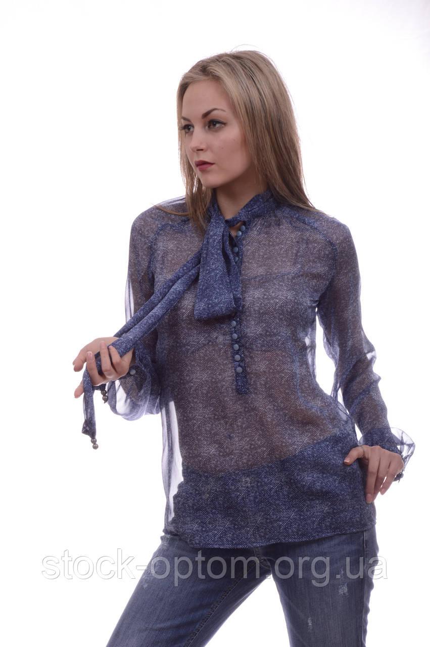 7d6288a42d1 Шифоновые блузки Amy Gee c длинным рукавом - Сток оптом