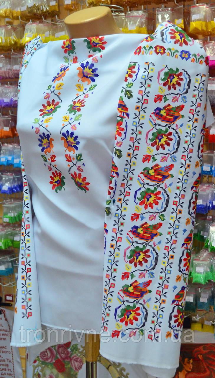 Заготовка жіноча сорочка птахи -