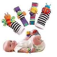 Погремушки на запястья и носочки с погремушками Lamaze, фото 1
