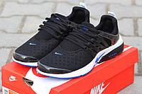 Мужские кроссовки Nike Air Presto, сетка, черно белые / кроссовки для зала мужские Найк Аир Престо, стильные