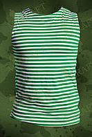 Тельняшка зеленая