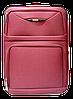 Чемодан дорожный (средний) бордового цвета Ч9