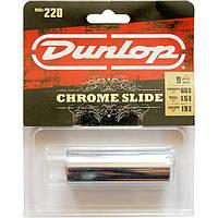Слайдер Dunlop 220 Chromed Steel Guitar Slide 1,5х19х60, фото 1