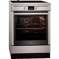 Кухонная плита AEG 47095VD-MN ШxГxВ(50x60x85), верх:электрический, низ:электрический, цвет:серебристый