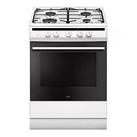 Кухонная плита AMICA 617GGH4.33HZPFW ШxГxВ(60x60x85), верх:газовый, низ:электрический, цвет:белый