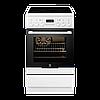 Кухонная плита ELECTROLUX EKC54550OW ШxГxВ(50x60x85), верх:электрический, низ:электрический, цвет:белый