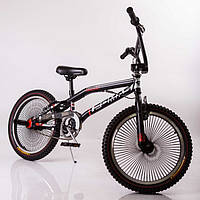 Экстремальный Велосипед детский трюковый 20 дюймов Fomas F-200 Black