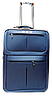 Чемодан дорожный (средний) синего цвета Ч11