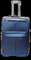 Чемодан дорожный (средний) синего цвета Ч11, фото 1