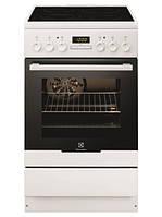 Кухонная плита ELECTROLUX EKK645014OX ШxГxВ(50x60x87), верх:электрический, низ:электрический, цвет:нержавеющая