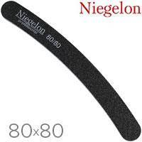 Niegelon Пилочка 06-0311 минерал. A (черная банан) 80х80, фото 2