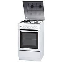 Кухонная плита GORENJE CC500W ШxГxВ(60x60,5x85), верх:газовый, низ:электрический, цвет:белый