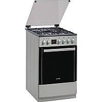 Кухонная плита GORENJE CC600I ШxГxВ(60x60,5x85), верх:газовый, низ:электрический, цвет:нержавеющая сталь
