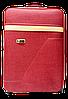 Чемодан дорожный (средний) бордового цвета Ч12