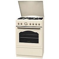 Кухонная плита GORENJE K67CLI ШxГxВ(60x60x85), верх:газовый, низ:электрический, цвет:слоновая кость, фурнитура