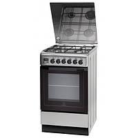 Кухонная плита INDESIT I5GMH5AGC(X)U ШxГxВ(50x60x85), верх:газовый, низ:газовый, цвет:нержавеющая сталь