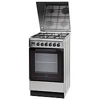 Кухонная плита INDESIT I5GMH6AG(X) ШxГxВ(50x60x85), верх:газовый, низ:электрический, цвет:нержавеющая сталь