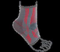Бандаж на голеностопный сустав вязанный эластичный усиленный