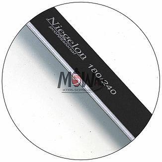 Niegelon Пилочка 06-0321 минерал. E (черная широкая) 180x240, фото 2