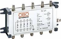 Коаксиальное устройство защиты для спутникового и кабельного многопозиционного подключения OBO Bettermann