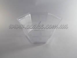 Креманка прозрачная фигурная