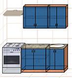 "Кухня ""Оптима"" длина 1,4 м - вариант №1, фото 2"