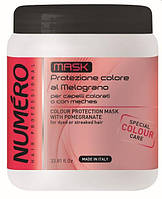 Крем маска Нумеро для защиты цвета волос с экстрактом граната 1000 мл Маска Numero 1000 ml