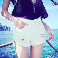 Джинсовые шорты(белые и черные)