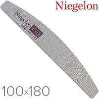 Niegelon Пилочка 06-0343 минерал. D (серая сегмент) 100x180