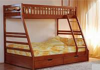 """Двухъярусная деревянная кровать """"Юлия"""", фото 1"""