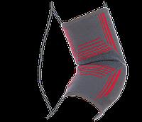 Бандаж на локтевой сустав вязанный эластичный усиленный