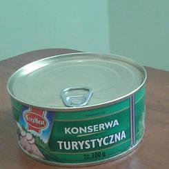 "Консерва ""Turystyczna"" EvraMeat 300 гр"