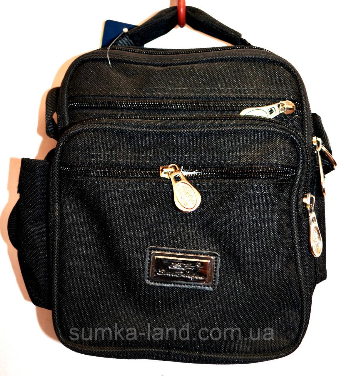 edf6a5618104 Текстильные мужские барсетки и сумки на плечо (ЧЕРНЫЙ): продажа ...