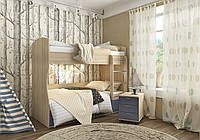 """Детская двухъярусная кровать """"Домино"""", фото 1"""