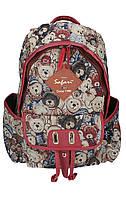 Ранець-рюкзак, 2 в-ня., 41*29*16 см, Cotton PL,9776, SAF