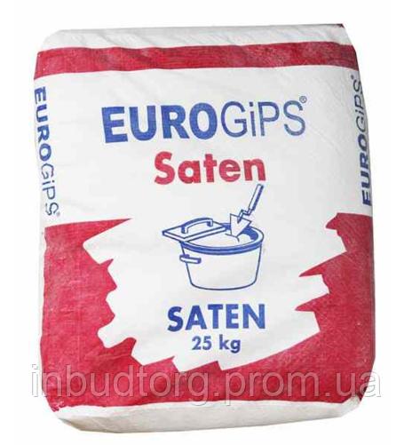 Шпаклевка Satengips (Сатенгипс) Еврогипс Финишная Турция 25 кг - ИнБудТорг в Днепре