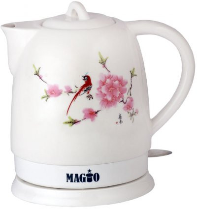 Электрочайник керамический MAGIO МG-105, 1,5 л.