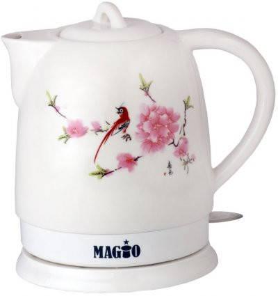 Электрочайник керамический MAGIO МG-105, 1,5 л., фото 2