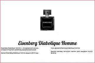 Eisenberg Diabolique Pour Homme парфюмированная вода 100 ml. (Айзенберг Дьяболик Пур Хом), фото 3