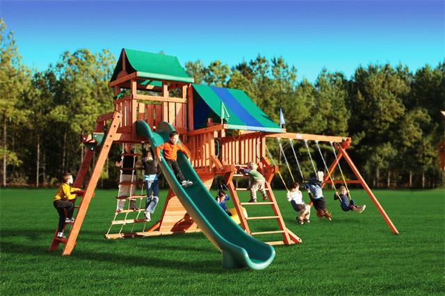 Детские игровые площадки и аксессуары к ним