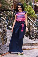 Длинное платье в полоску (2 цвета)