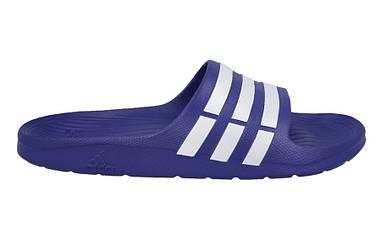 Тапочки Adidas Duramo Slide синий