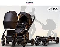 Детская универсальная коляска 2 в 1 Anex Cross 2017