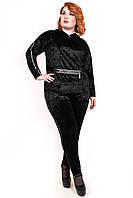 Женский костюм Велюровый большого размера 094