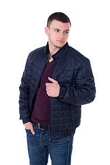Демисезонная мужская куртка № М51 (3 цвета) Размеры 48- 58